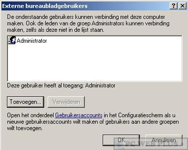 Windows Xp Extern Bureaublad Pc Web Plus