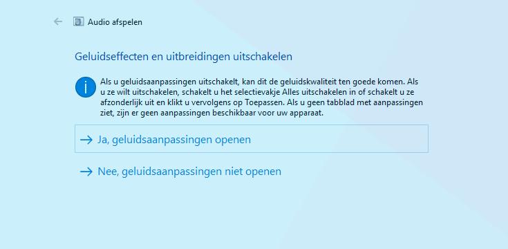 Audioproblemen in Windows 10 oplossen