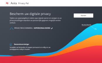 Avira Privacy Pal voor meer privacy in Windows 10