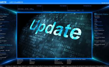 BIOS en UEFI updaten