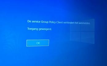 Gebruikersprofiel kan niet worden geladen in Windows 10