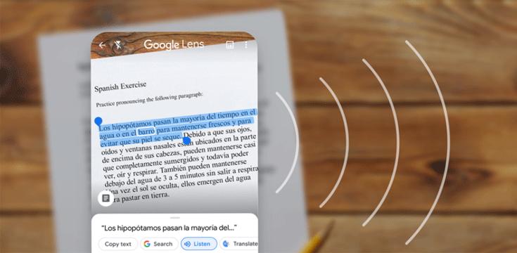 Handgeschreven tekst kopiëren met Google Lens