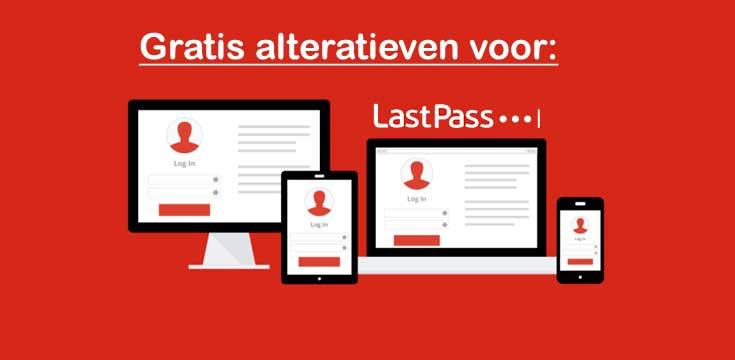 Gratis alternatieven voor LastPass