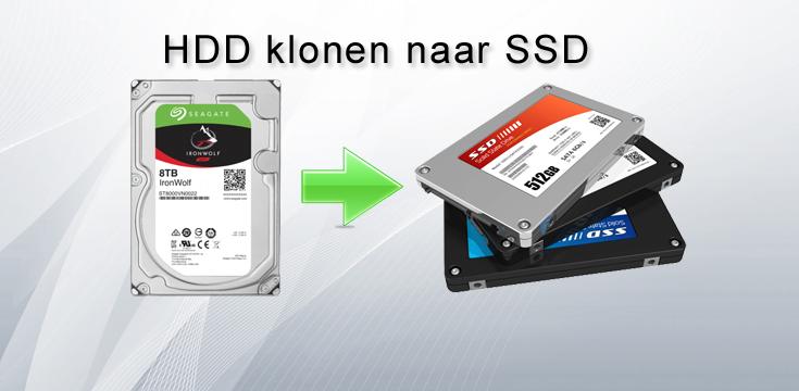 HDD klonen naar SSD
