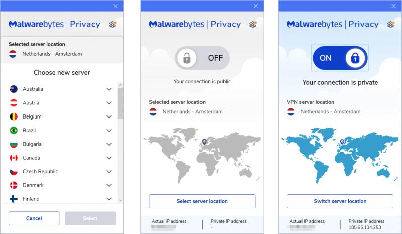 Hoe werkt de VPN-dienst van Malwarebytes?