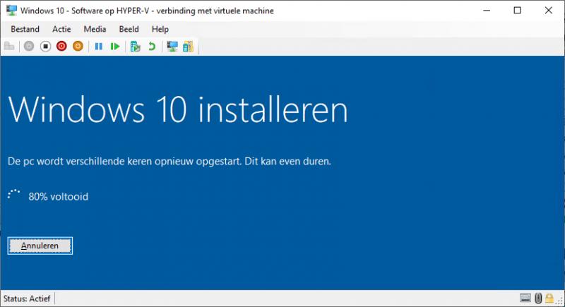 In-place upgrade Windows 10 met de Media Creation Tool