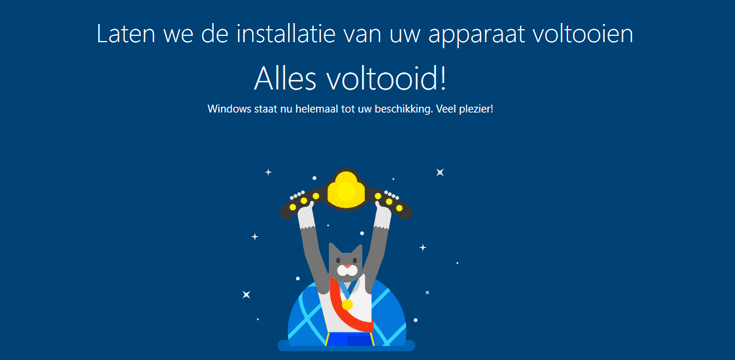 Laten we de installatie van uw apparaat voltooien in Windows 10