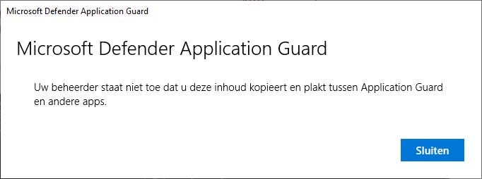 Microsoft Defender Application Guard