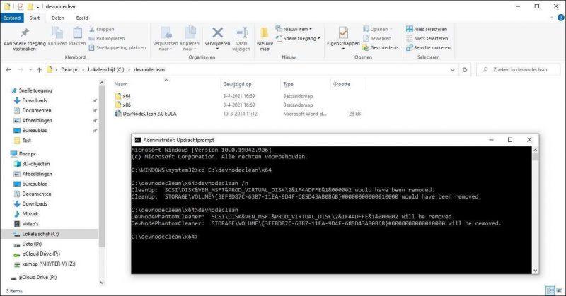 Microsoft DevNodeClean