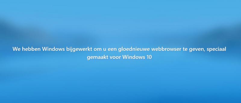 Microsoft Edge volledig resetten in Windows 10