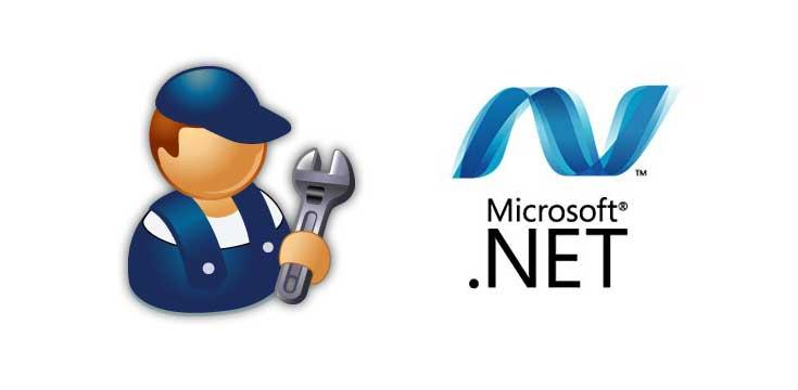 Microsoft .NET Framework problemen verhelpen