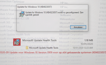 Microsoft Update Health Tools KB4023057
