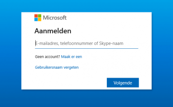 Microsoft-account loskoppelen in Windows 10