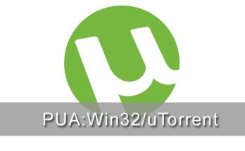 uTorrent verwijderen PUA:Win32/uTorrent
