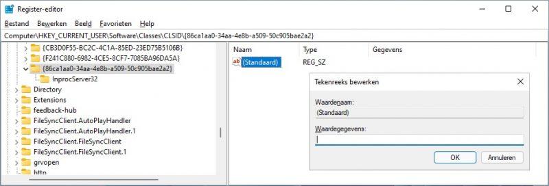 Rechtermuisknopmenu aanpassen in Windows 11