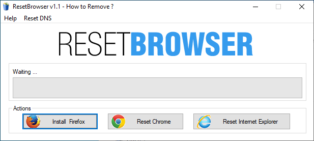 Reset Browser