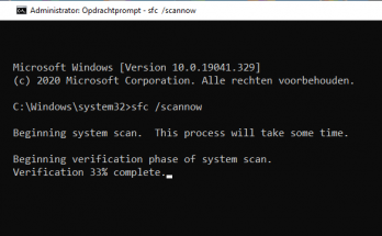 SFC Scannow Hoe werkt de System File Checker in Windows?