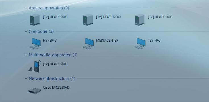 Thuisnetwerk instellen en configureren in Windows 10