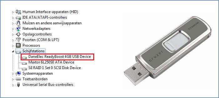 USB stick wordt niet herkend