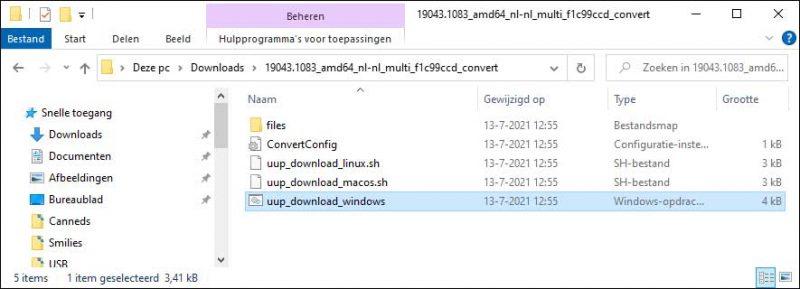 UUP download windows CMD script