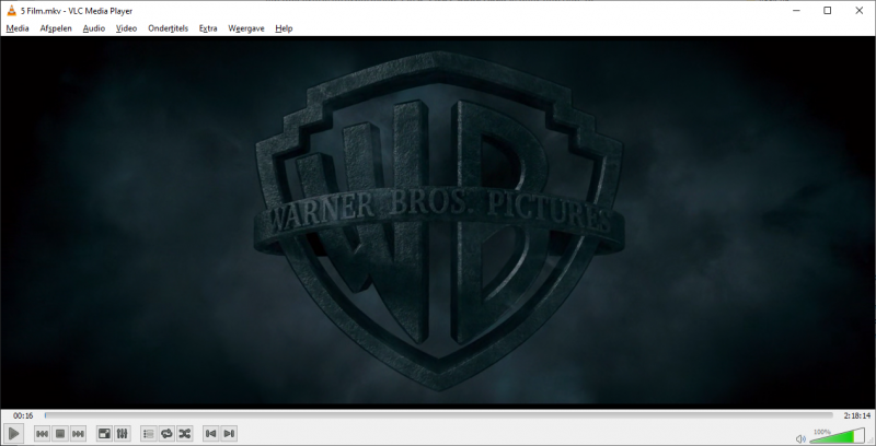 VLC Media Player als alternatief voor de Films en TV app in Windows 10