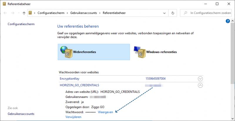 Webreferenties Internet Explorer Exporteren