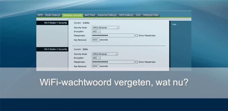 WiFi-wachtwoord achterhalen in Windows 10