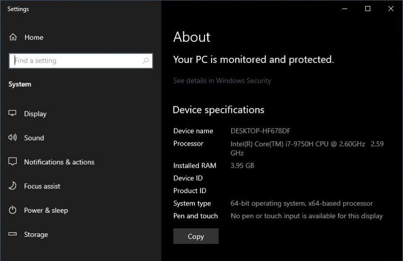 Windows 10 Build 20161