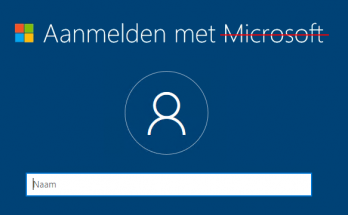 Windows 10 Home installeren met een lokaal account