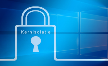 Windows 10 Kernisolatie