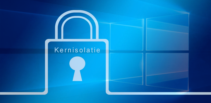 Windows 10 Kernisolatie