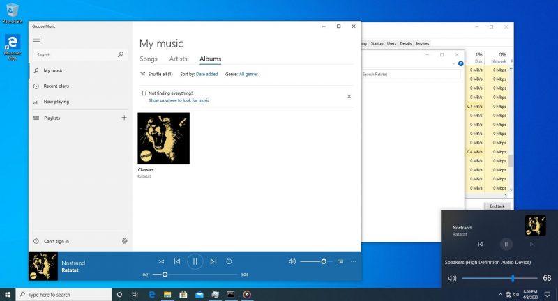 Windows 10 Volumeregeling