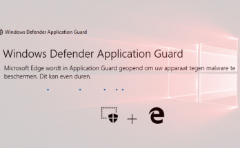 Windows Defender Appliation Guard