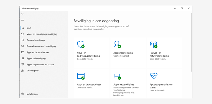 Windows Defender wordt Windows Beveiliging