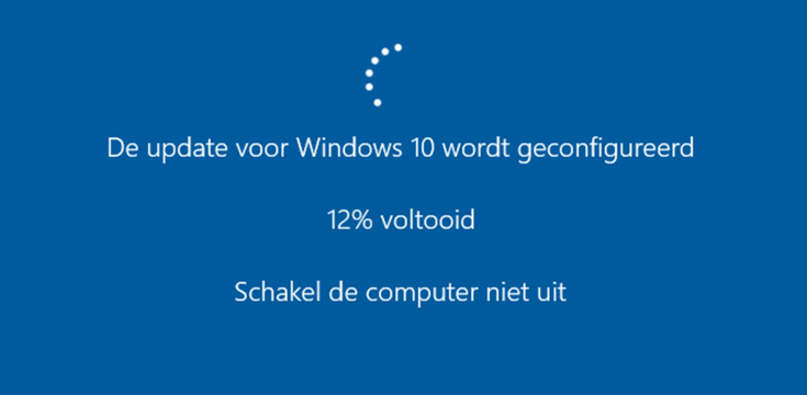 Windows Update blijt hangen