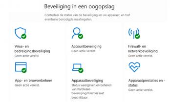 Windows beveiliging resetten en opnieuw instellen