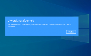 Windows bijwerken met de Windows 10-updateassistent