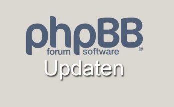 phpBB Forumsoftware updaten