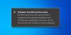 Probleem met Microsoft-account